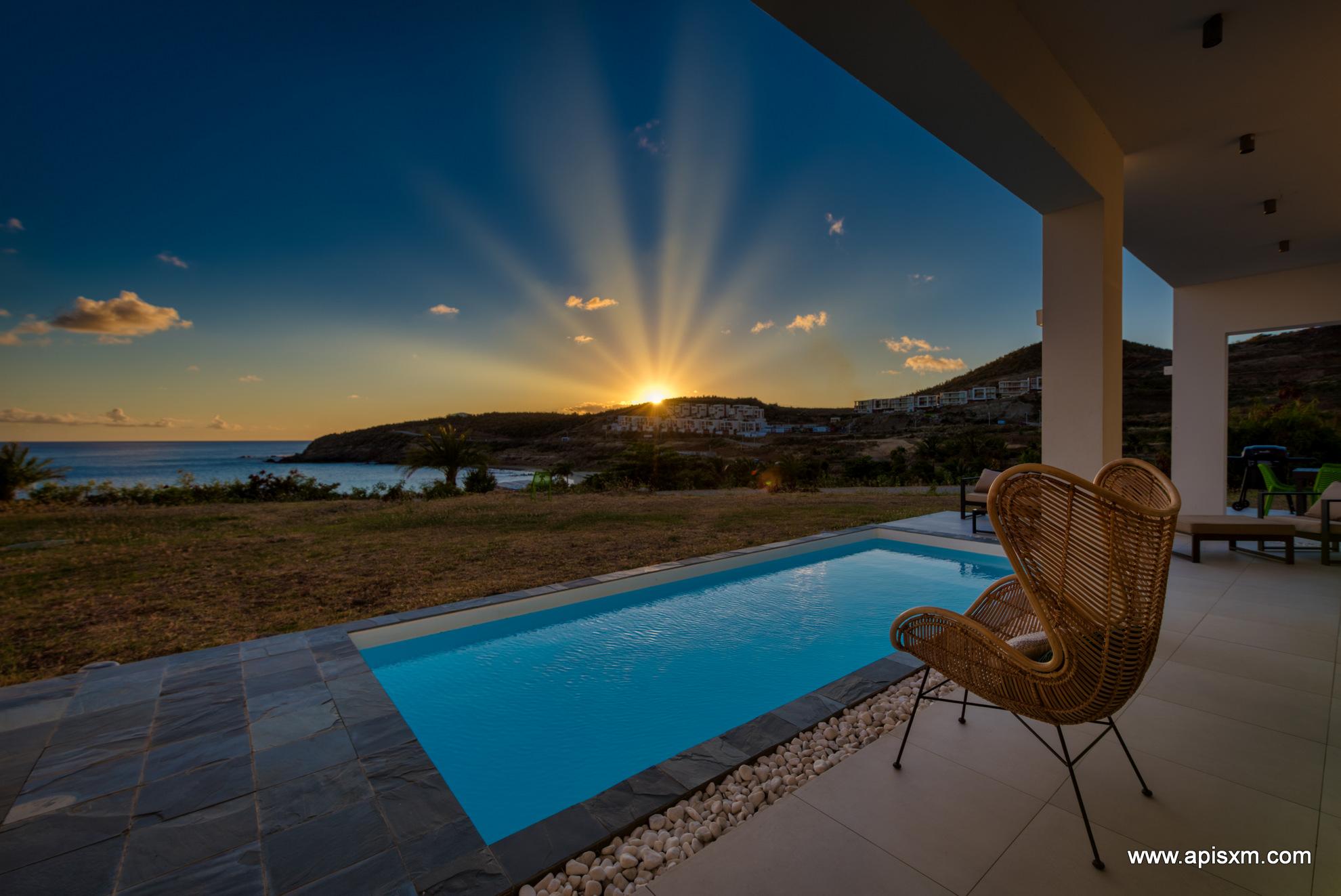 Luxueuse Villa Winter Sea à Indigo Bay Sxm