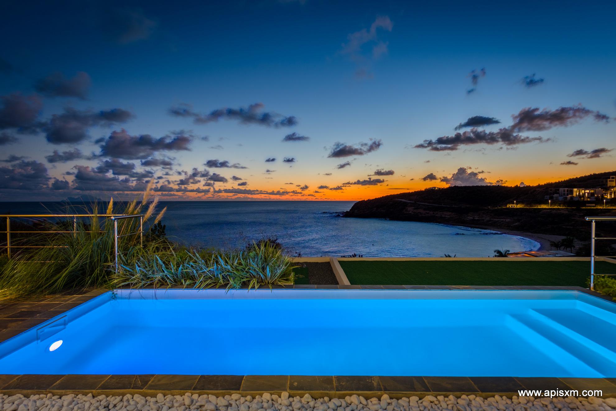 Luxueuse Villa Spring Sea à Indigo Bay Sxm